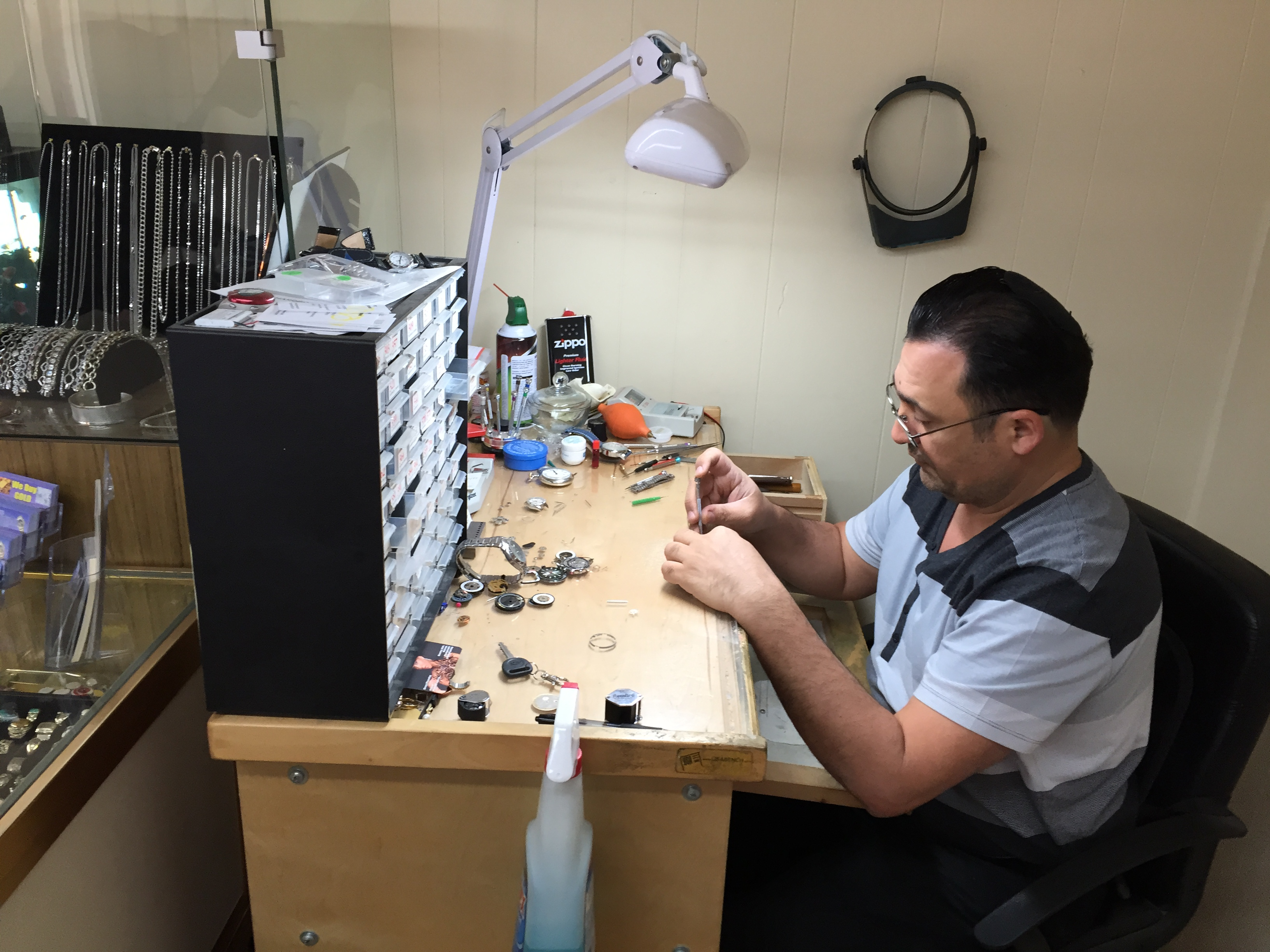 Master Watch Maker Nurel Yagudayev